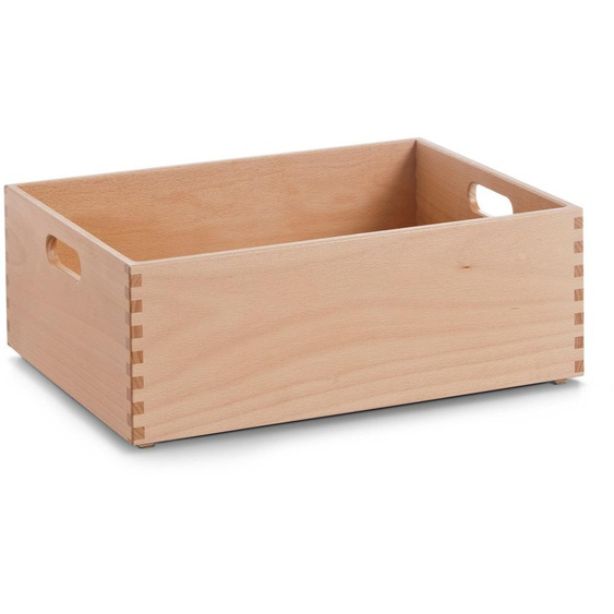 Zeller Present Holzkiste, für jeden Bedarf B/H/T: 40 cm x 15 30 beige Kisten Truhen, Körbe Schlafzimmer Holzkiste