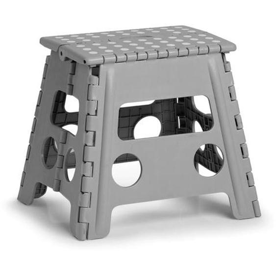 Zeller Present Klappstuhl, Kunststoff, klappbar, Sitzhöhe 32 cm Einheitsgröße grau Klappstühle Weitere Stühle Sitzbänke Klappstuhl