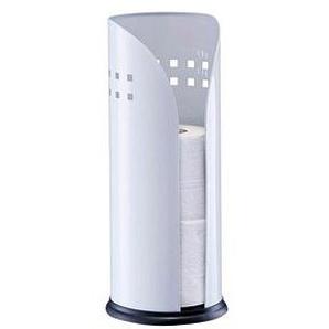 Zeller Toilettenpapierhalter weiß