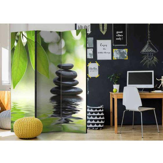 Zen Design Paravent aus drei Elementen 135 cm breit