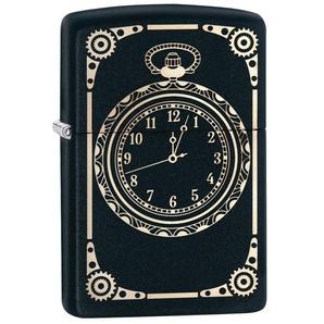 Zippo Feuerzeuge »All over Clock«, original Zippo