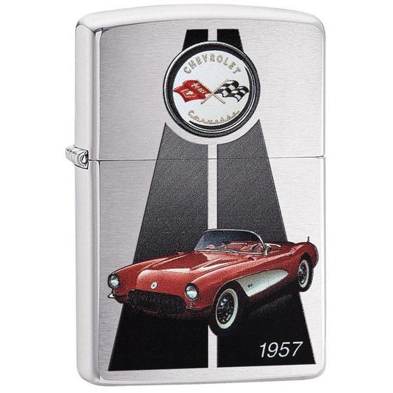 Zippo Feuerzeuge »Corvette 1957«, original Zippo