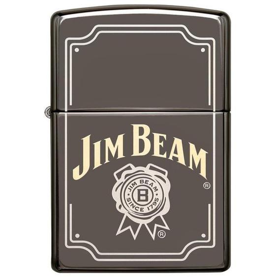 Zippo Feuerzeuge »Jim Beam Logo Two Tone«, original Zippo