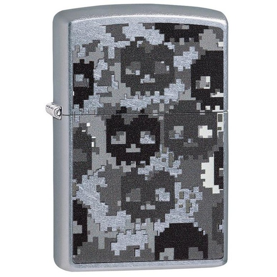 Zippo Feuerzeuge »Pixel Skull Camo«, original Zippo