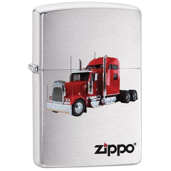 Zippo Feuerzeuge »Red Diesel Truck«, original Zippo