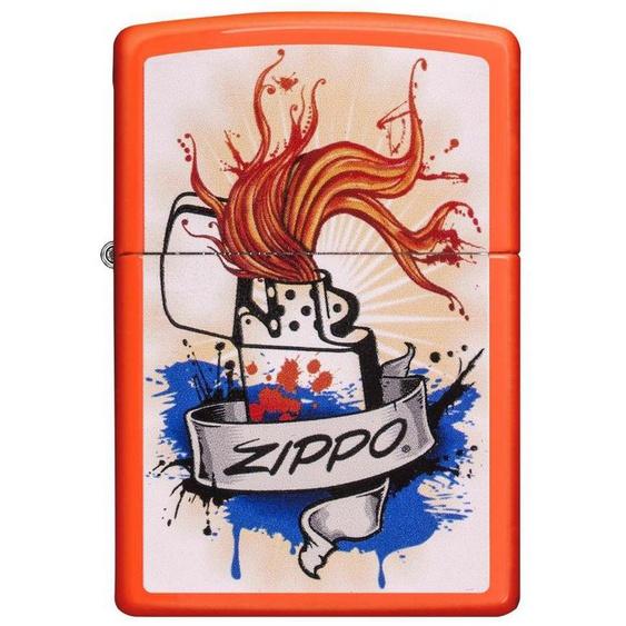 Zippo Feuerzeuge »Zippo Grafic«, original Zippo