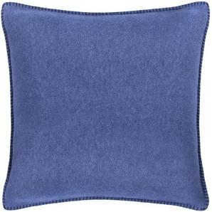 KISSENHÜLLE Blau 50/50 cm