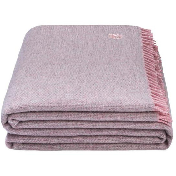 Zoeppritz Wohndecke 130/190 cm Rosa , Textil , Uni , 130x190 cm