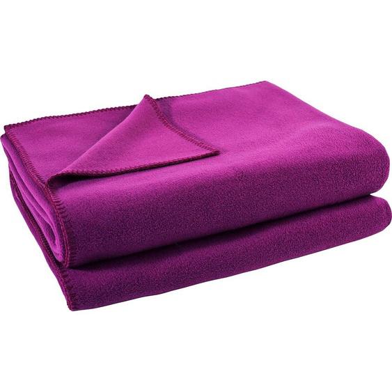 Zoeppritz Wohndecke  »Soft-Fleece«, 110x150 cm, rosa