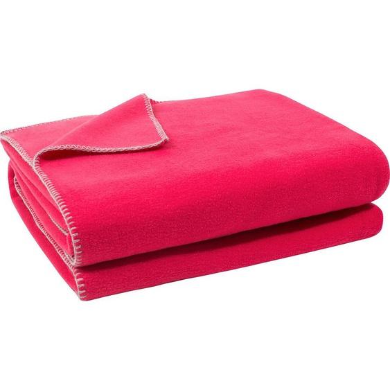Zoeppritz Wohndecke  »Soft-Fleece«, 160x200 cm, rosa