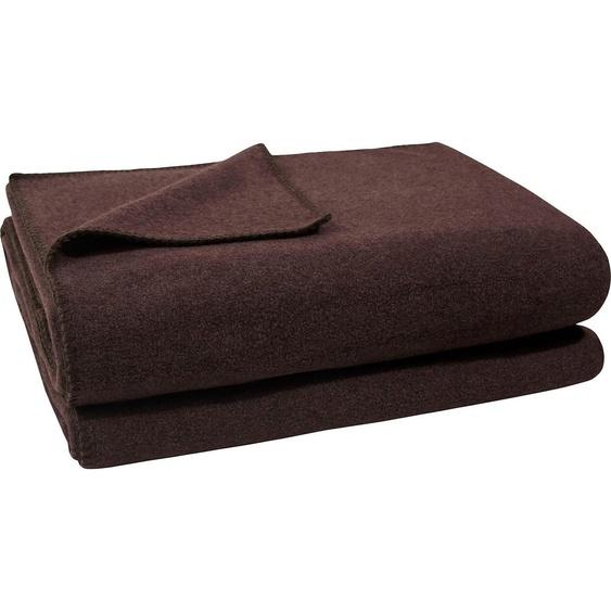 Zoeppritz Wohndecke  »Soft-Fleece«, 220x240 cm, braun