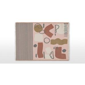 Zola Decke (130 x 170 cm), Mehrfarbig