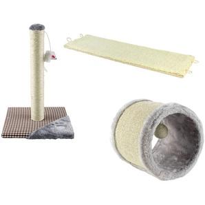 ZOOFARI® Kratzspielzeug, aus Baumwolle und Sisal