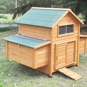 Zoopplier Hühnerstall Hühnerhaus Chickenhouse Nr. 02Gluckshaus mit legebox und Wanne