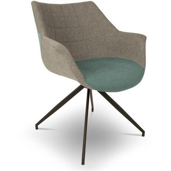 Zuiver Stuhl, Blau, Stoff