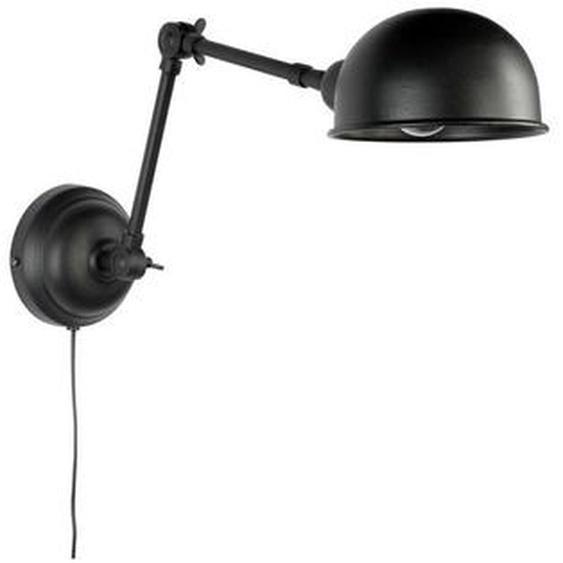 Zuiver Wandleuchte , Schwarz , Metall , 15x18x64 cm