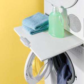 Zwischenbausatz für Waschmaschine und Trockner - Weiß -